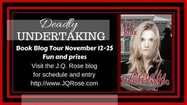 DeadlyUNDERTAKING Blog tour poster