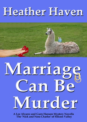 Marriage Can Be Murder cozy mystery on Amazon